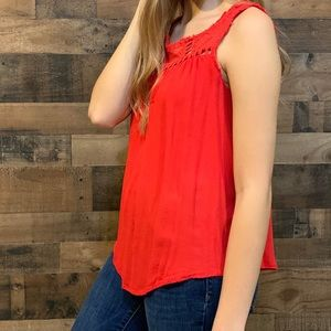 Red tank top from Target